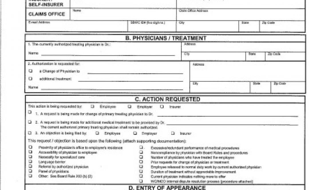 What Do Georgia Workers Compensation Forms Mean? Perkins Law Talk