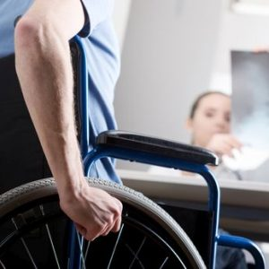 Man in wheelchair needs transportation